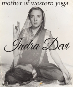 where did yoga originate - indra devi