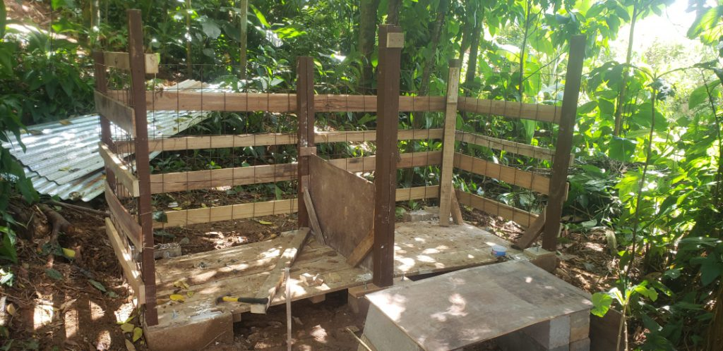 upcycling how to build a DIY compost shed - 5 Compost_Shed_-_Walls