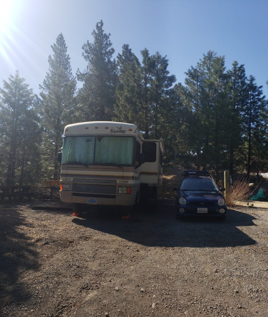 back in the states a life update - Rv at regional park