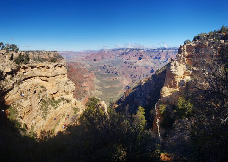 back in the states a life update - grand canyon pano