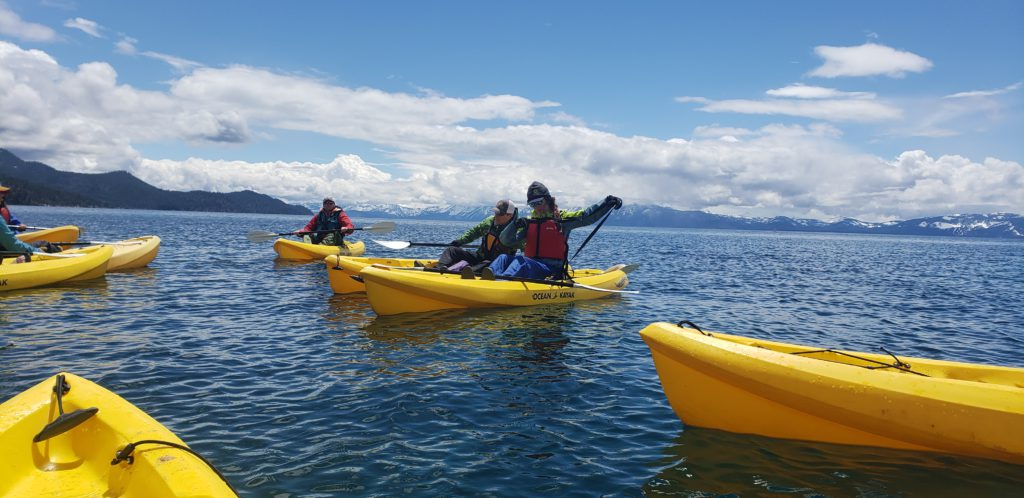 back in the states a life update - guiding on lake tahoe