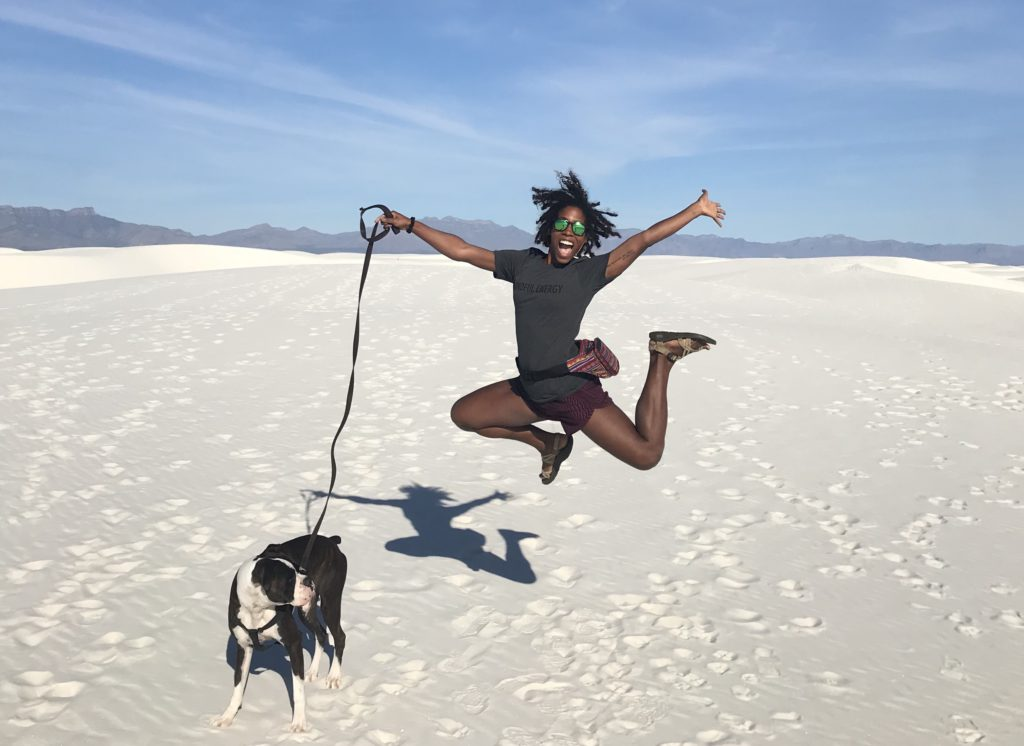 back in the states a life update - katie + hoolie at white sands