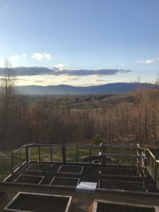 back in the states a life update - view from dan and sue property